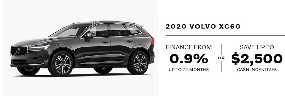 2020 Volvo XC60 September Offer