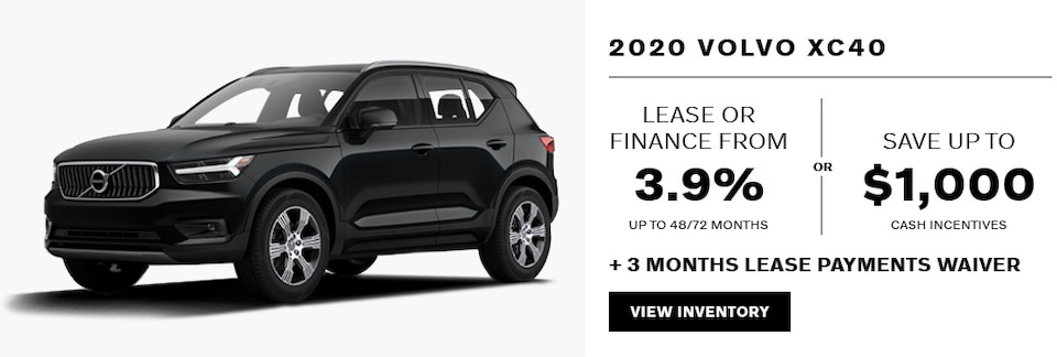 2020 Volvo XC40 April Offer