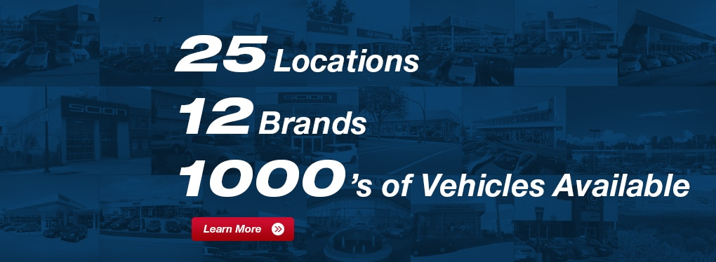 The Jim Pattison Auto Group 12 Brands 25 Locations