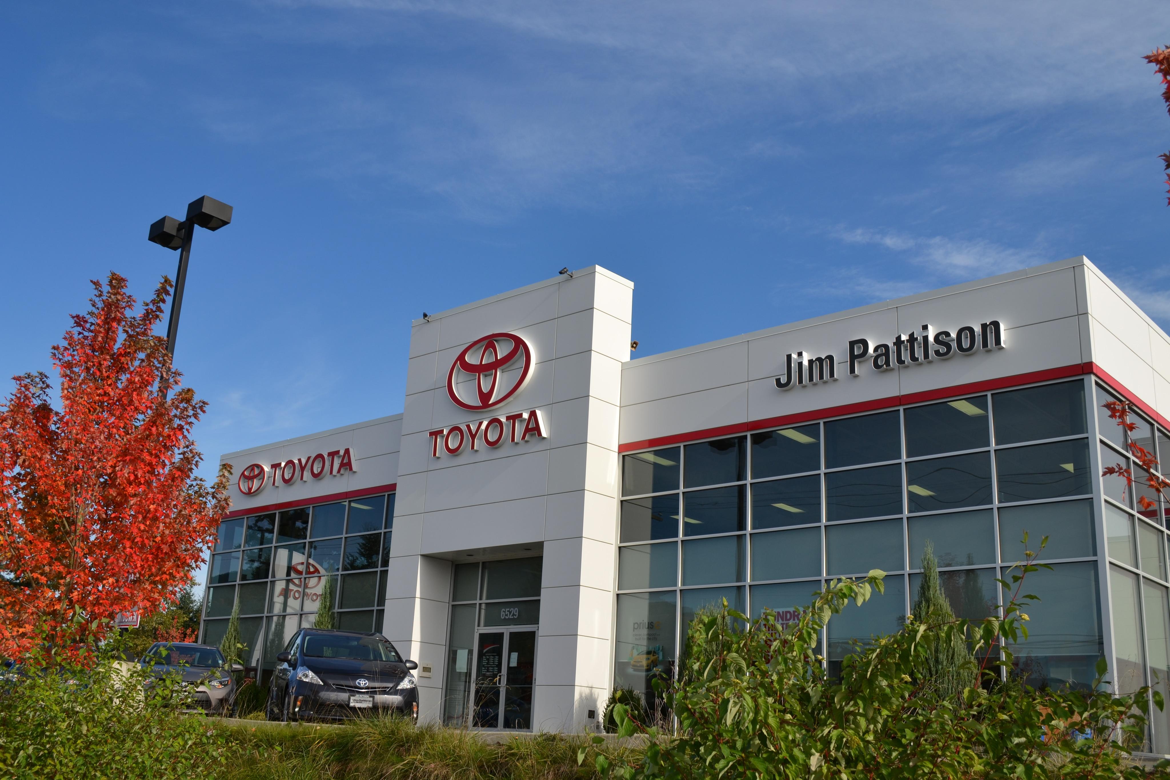 Surrey Auto Mall >> Toyota Dealerships | The Jim Pattison Auto Group
