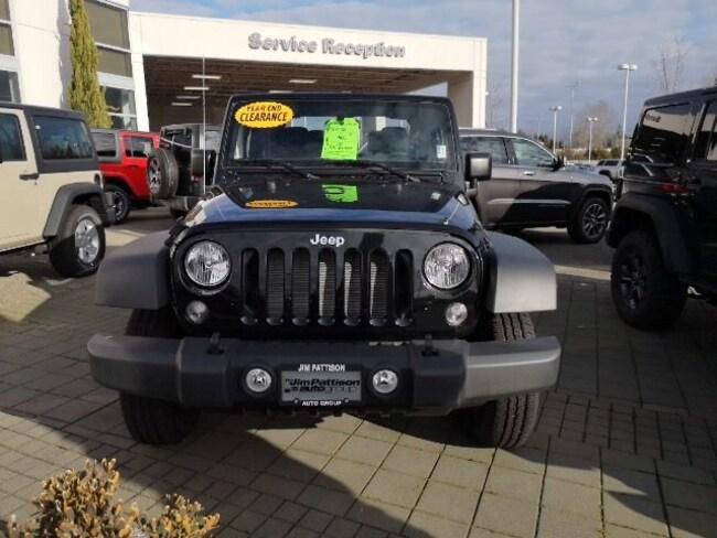 2018 Jeep Wrangler Sport,Brand new ! Convertible