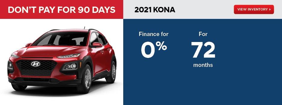 2021 Kona May Offer