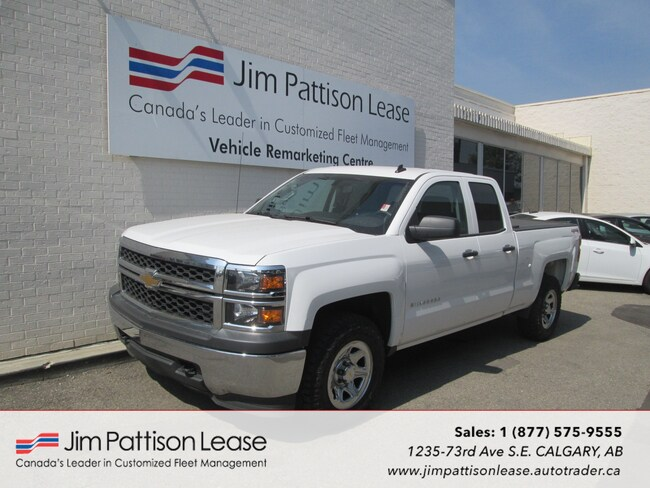 2014 Chevrolet Silverado 1500 4.3L V-6 4X4 Double Cab w/ Box Cover Truck Double Cab