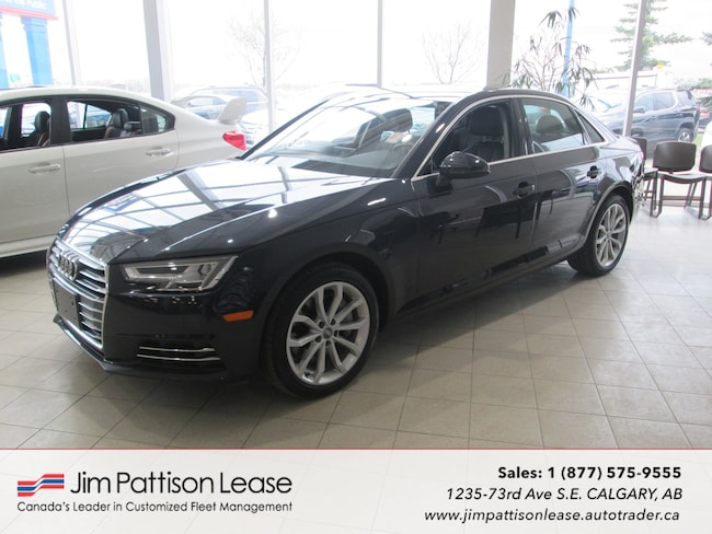 2017 Audi A4 2.0T Quattro Progressive AWD Leather Sedan w/ NAV! Sedan