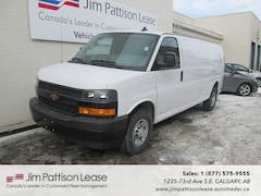 2018 Chevrolet Express 3500 6.0L RWD Extended Cargo Van w/ B.U. Camera Van Extended Cargo Van