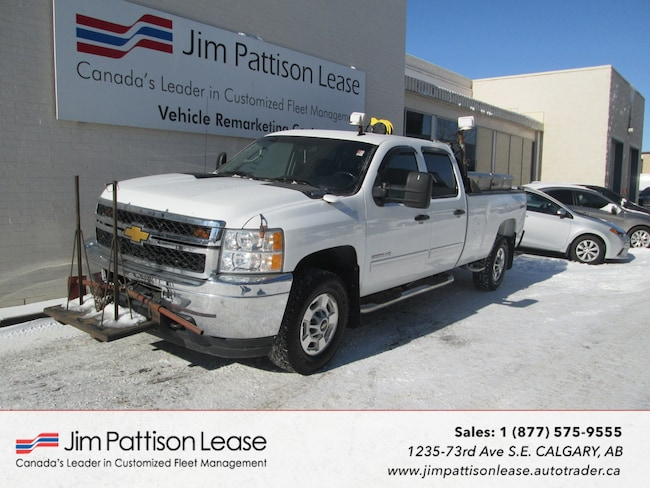 2012 Chevrolet Silverado 2500HD 6.0L 4X4 LT Up Fitted Crew Cab Long Box Truck Crew Cab