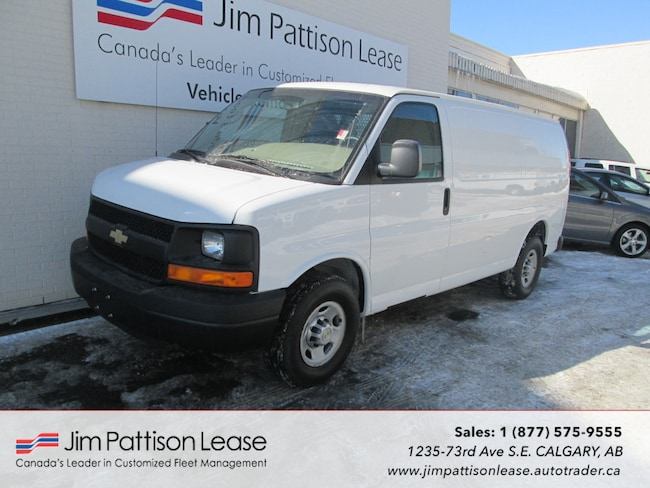 2013 Chevrolet Express 2500 4.8L RWD Cargo Van w/Partition & Heater Van