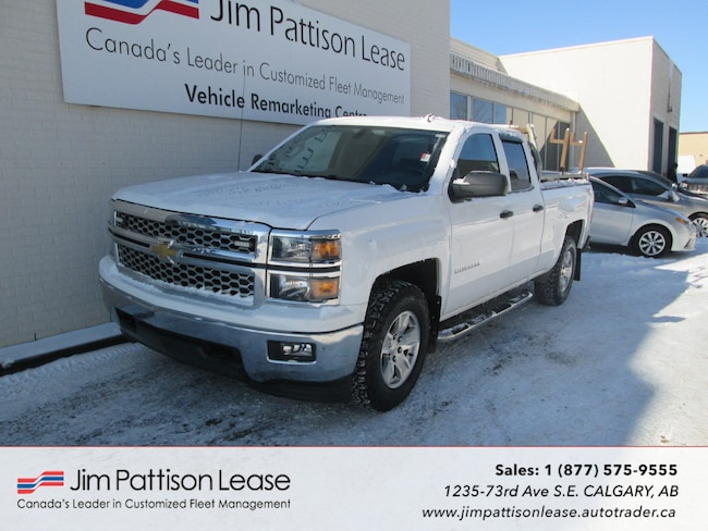 2014 Chevrolet Silverado 1500 5.3L 4X4 LT Double Cab w/ Back Up Camera Truck Double Cab