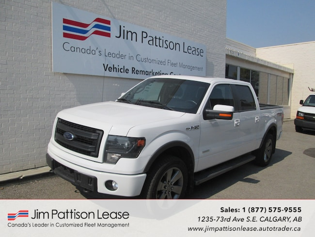 2014 Ford F-150 3.5L 4X4 Leather FX4 Crew Cab w/NAV & Bluetooth Truck