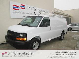 2017 Chevrolet Express 2500 4.8L RWD Cargo Van w/Ladder rack Van Cargo Van