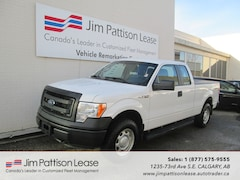 2013 Ford F-150 5.0L 4X4 XL Extended Cab w/ Box Cover Truck SuperCab