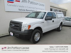 2013 Ford F-150 5.0L 4X4 XL Ext. Cab w/ Contractor Canopy Truck SuperCab