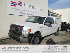 2013 Ford F-150 5.0L 4X4 XL Extended Cab w/ Canopy Truck SuperCab