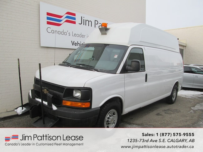 2013 Chevrolet Express 3500 6.0L RWD Raised Roof Up Fitted Cargo Van Minivan