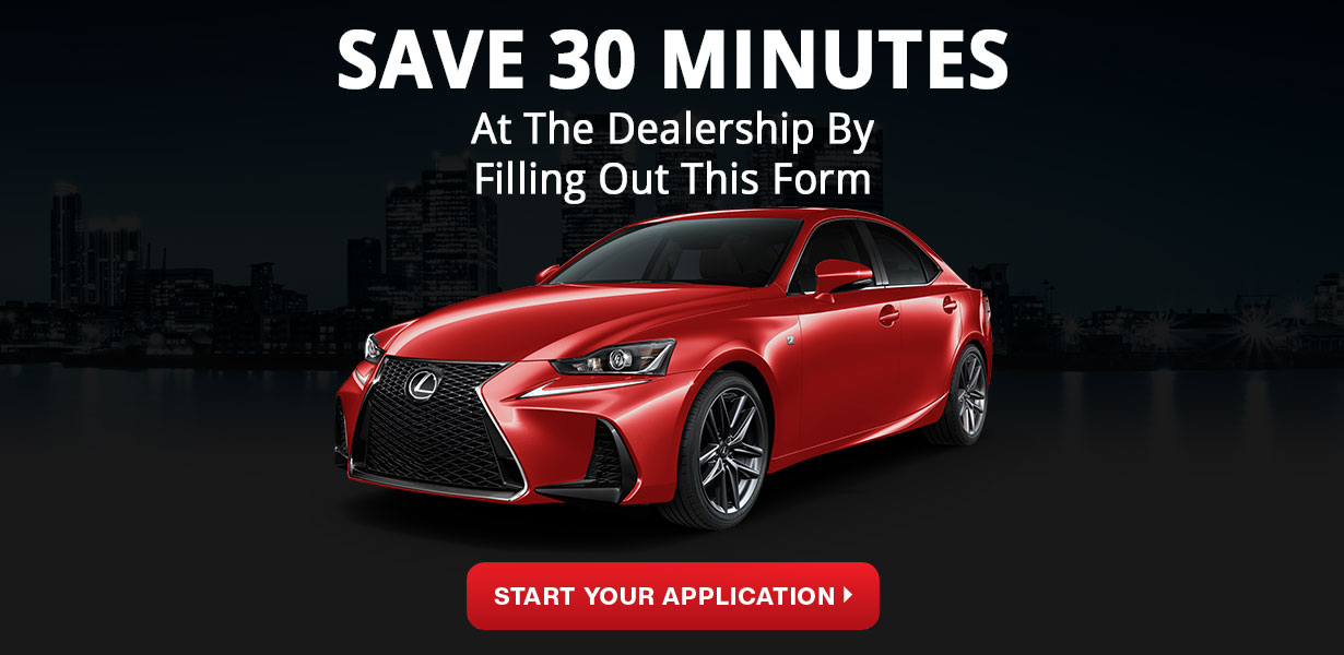 Lexus Car Loan Application
