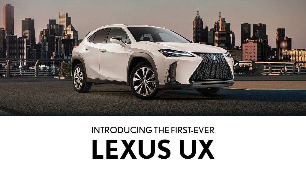 All New 2019 Lexus UX