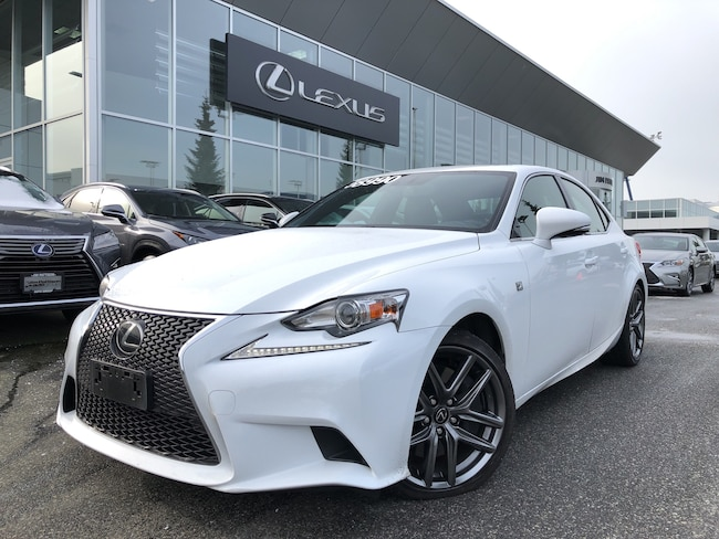 2016 LEXUS IS 300 AWD Fsport #3, NO Accidents, Local, ONE Owner Sedan