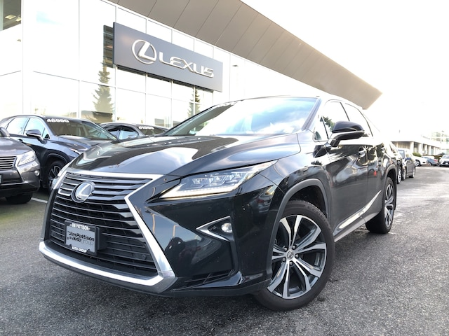2017 LEXUS RX350 8A LUX PKG, Certified, ONE Owner, Must SEE SUV