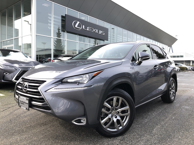 2015 LEXUS NX 200t 6A Premium PKG, NO Accidents, Local, ONE Owner SUV