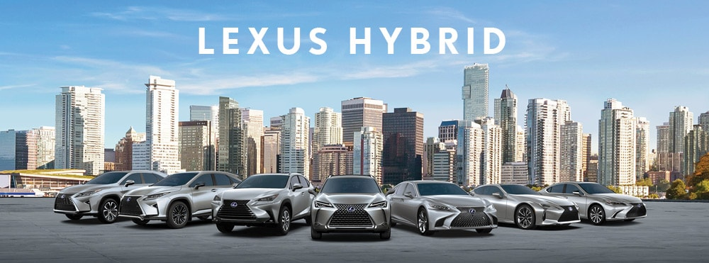 Lexus Self-Charging Hybrids