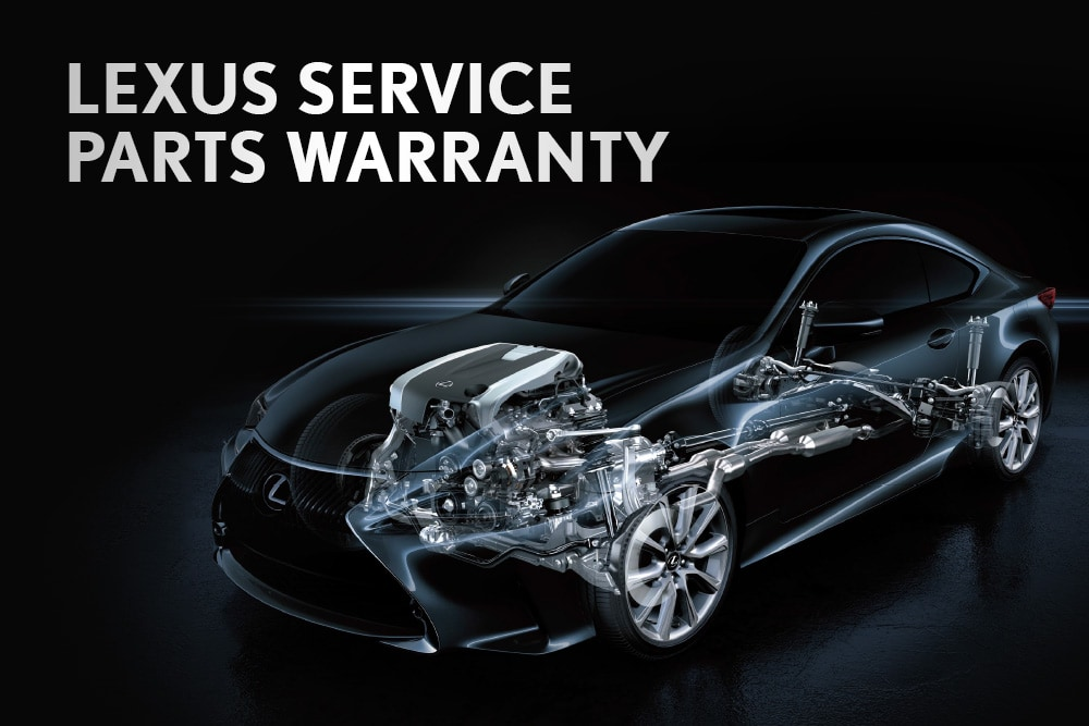 Lexus Service Parts Warranty