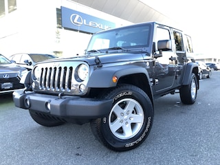 2017 Jeep Wrangler Unlimited Sport 488 KMS, Like NEW, NO Accidents, 4X4 SUV
