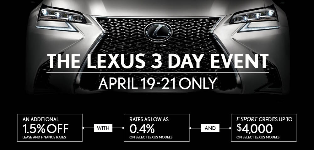 The 2018 Lexus 3 Day Event