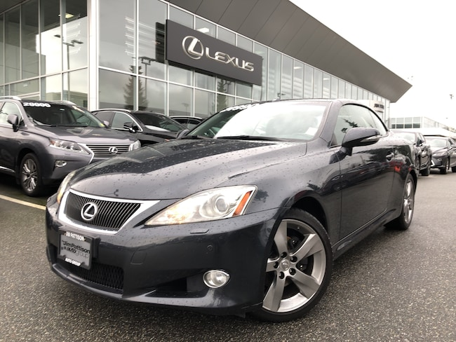2010 LEXUS IS250C 6A Rare Find, Full Load + Full Service History, Lo Convertible
