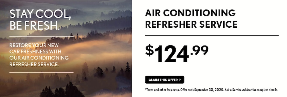 Air Conditioning Refresher Service