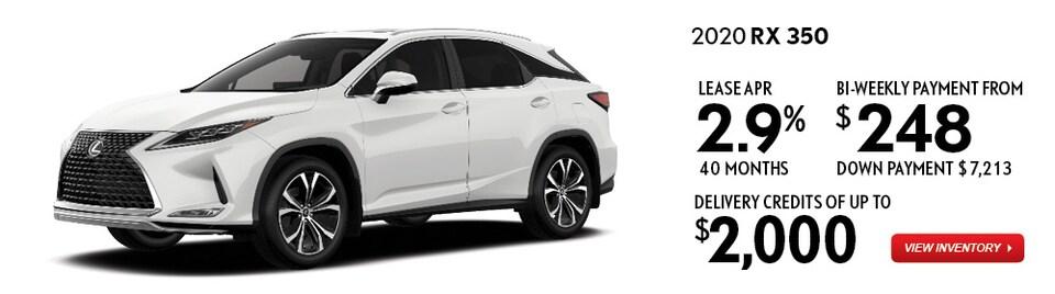 2020 RX 350