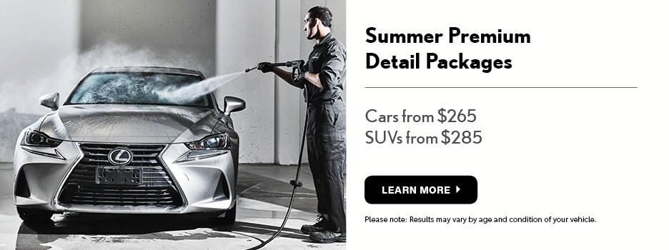 Summer Detail Specials!