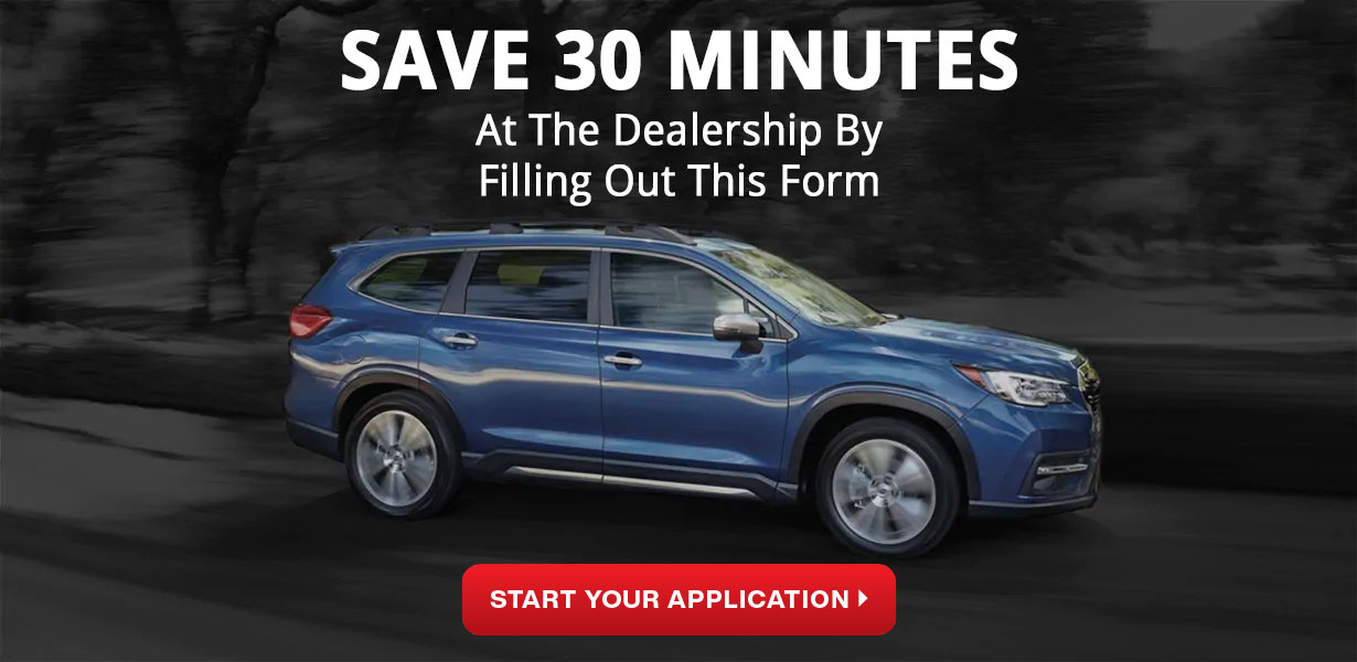 start your financing application - subaru