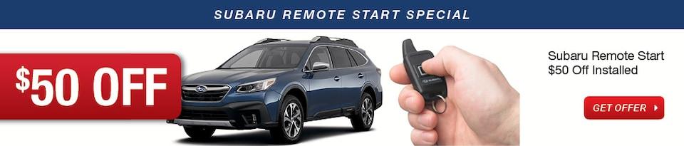Subaru Remote Start Special