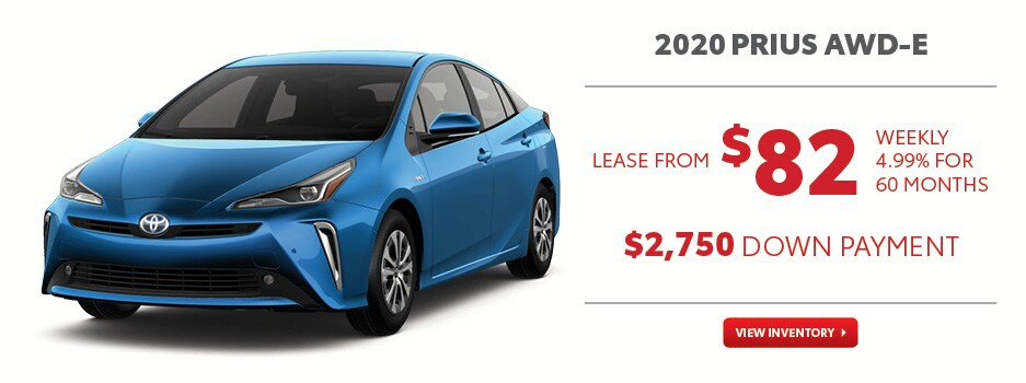 2020 Prius AWD-e March Offer