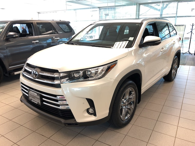 2019 Toyota Highlander Limited AWD with Premium Paint SUV