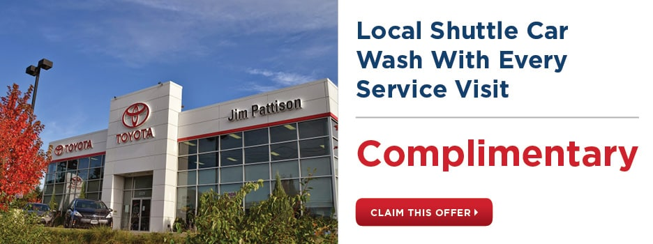 Complimentary Local Shuttle & Car Wash With Every Service Visit