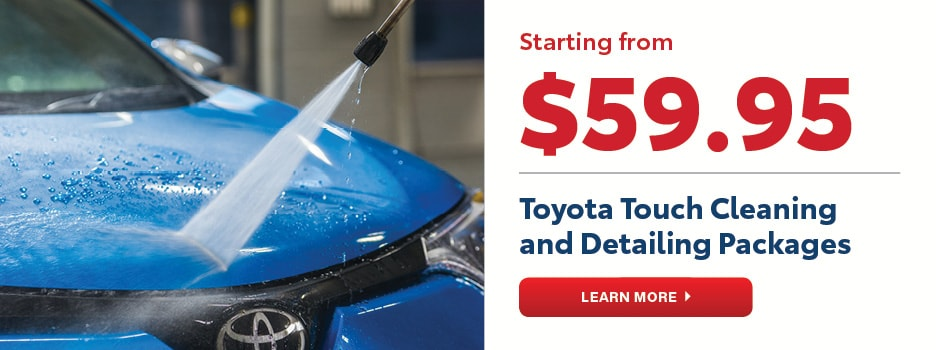 Toyota Touch Cleaning and Detailing