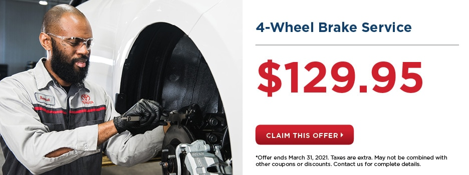 4-Wheel Brake Service