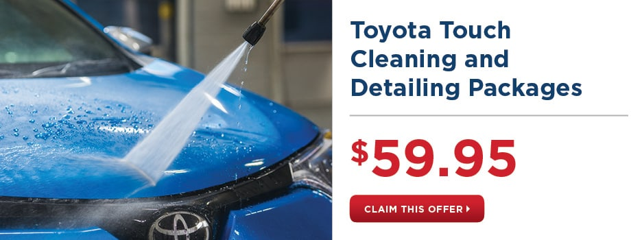 Toyota Touch Cleaning and Detailing Packages
