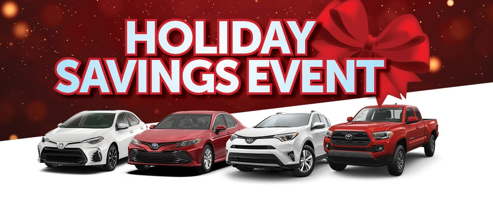Holiday Savings Event