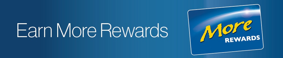 More Rewards Points