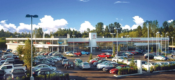 Jim Pattison Toyota Surrey dealership