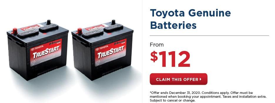 Toyota Genuine Batteries