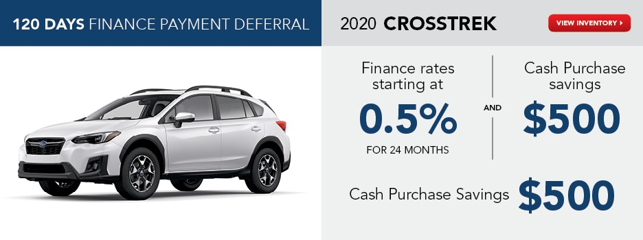 2020 Crosstrek July Offer