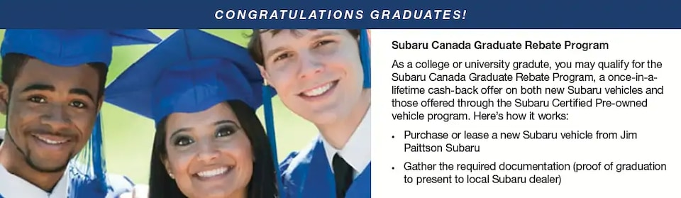 Congratualtions Graduates!