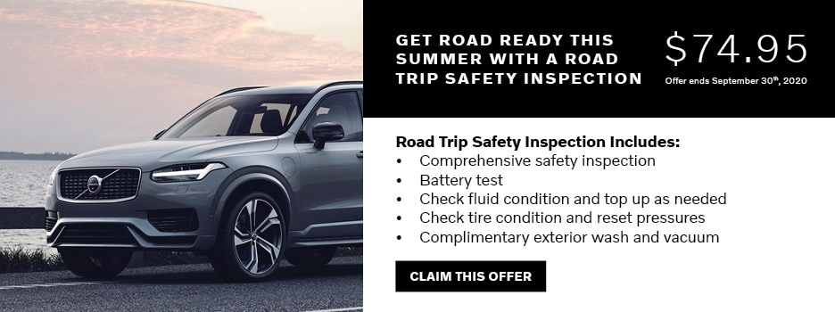 Road Trip Safety Inspection Offer