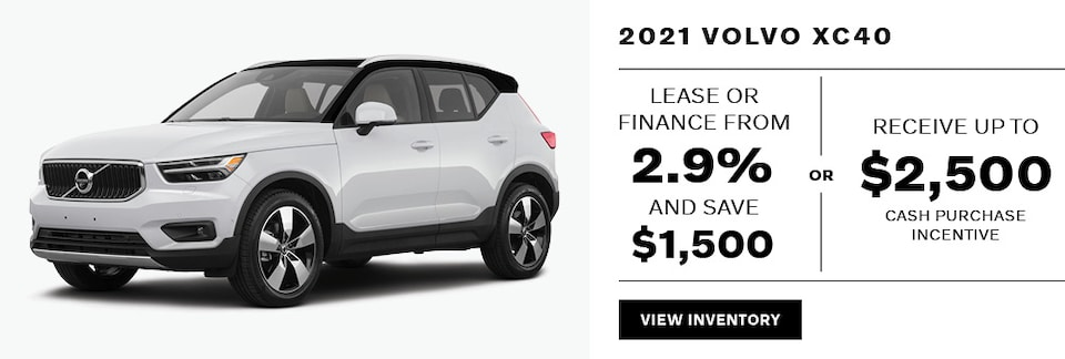 2021 XC40 May Offer