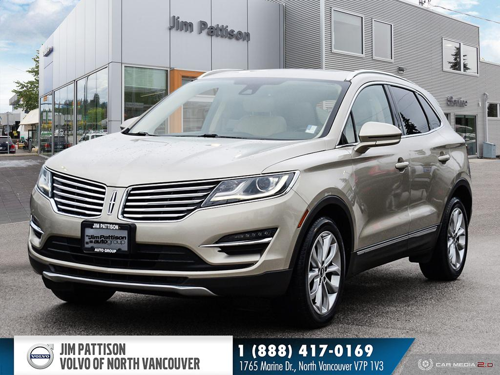 Pre-Owned 2015 Lincoln MKC Select - LOCAL - ONE OWNER - NO ACCIDENTS OVER 2K