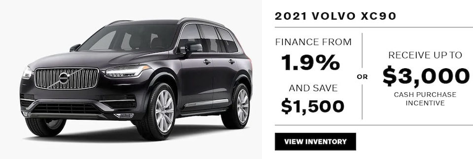 2021 XC90 May Offer