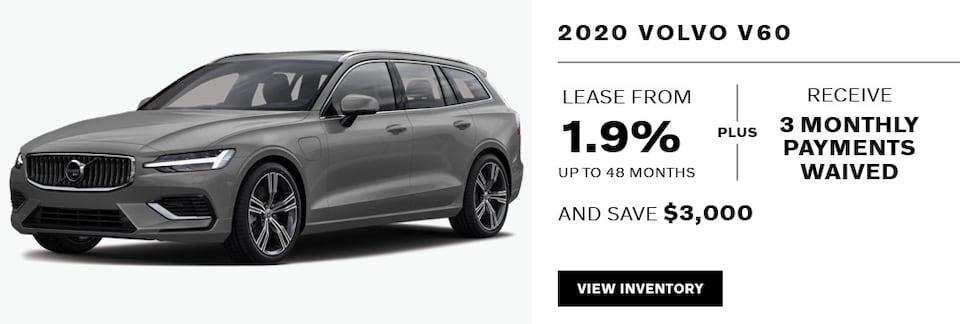 2020 Volvo V60 November Offer